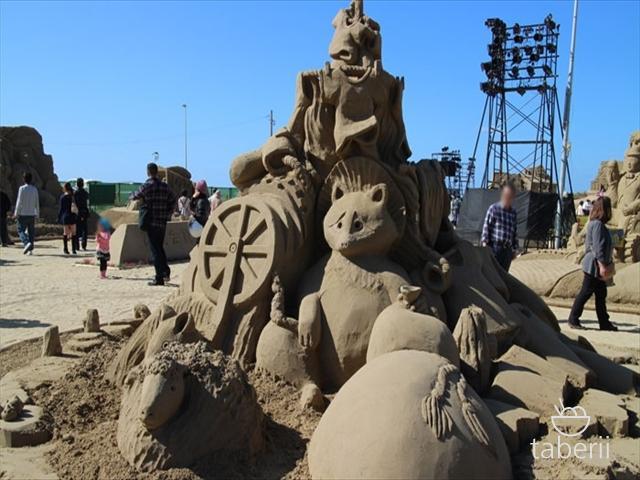 あしや砂像展2015-20