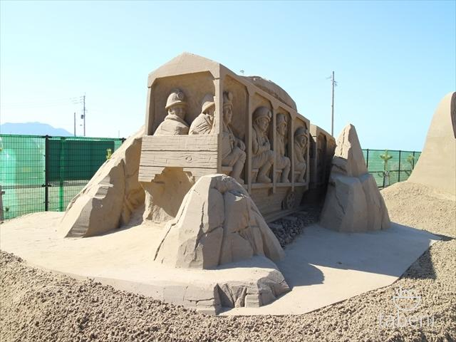 あしや砂像展2015-11