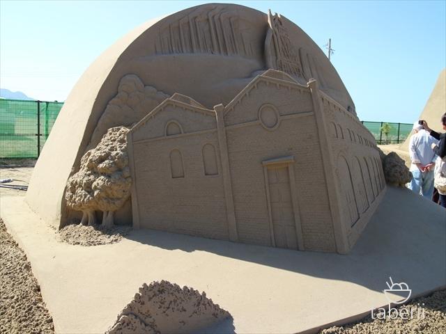 あしや砂像展2015-12