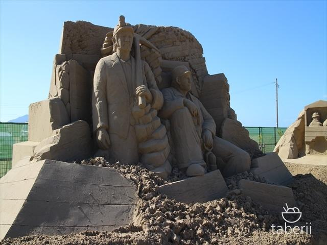 あしや砂像展2015-10