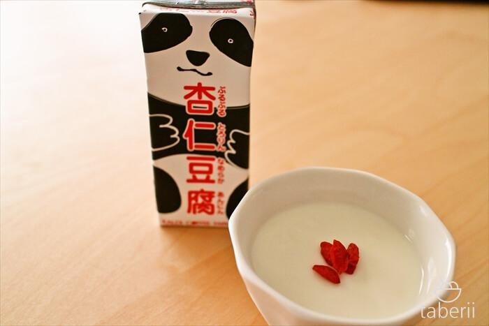カルディの杏仁豆腐4