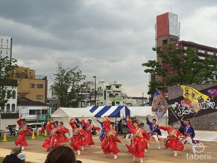 2016.5黒崎よさこい祭り1