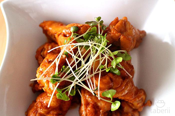 鶏手羽元の照り煮8