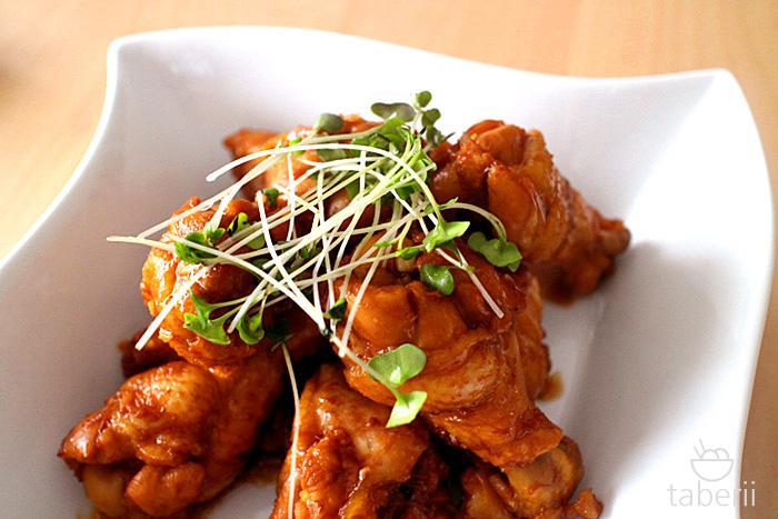 鶏手羽元の照り煮7