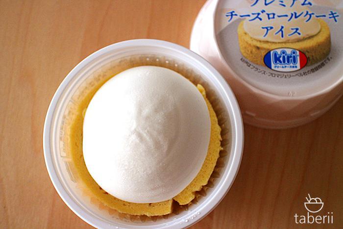 プレミアムチーズロールケーキアイス5