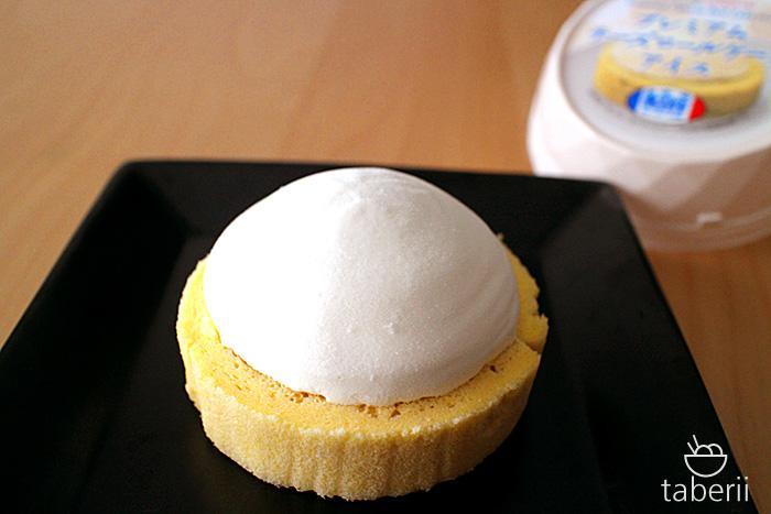 プレミアムチーズロールケーキアイス9