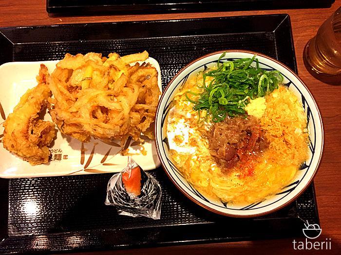 丸亀製麺・肉たまあんかけ3