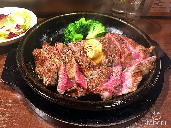 いきなりステーキのワイルドステーキ1