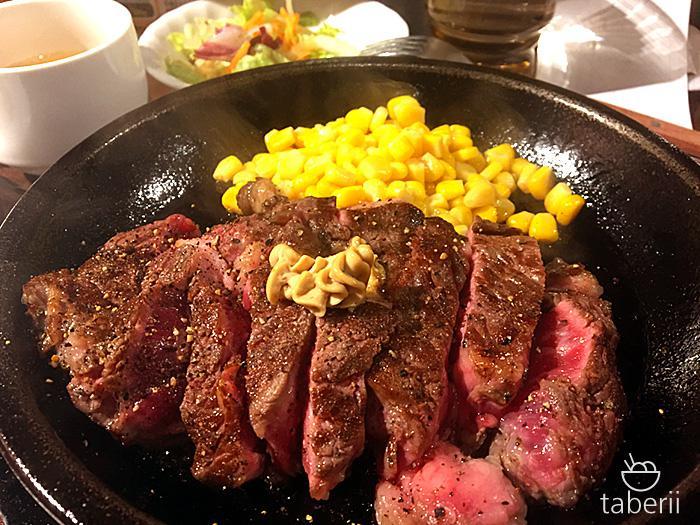 いきなりステーキのワイルドステーキ10