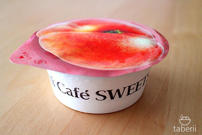 桃ソルベとレアチーズ5