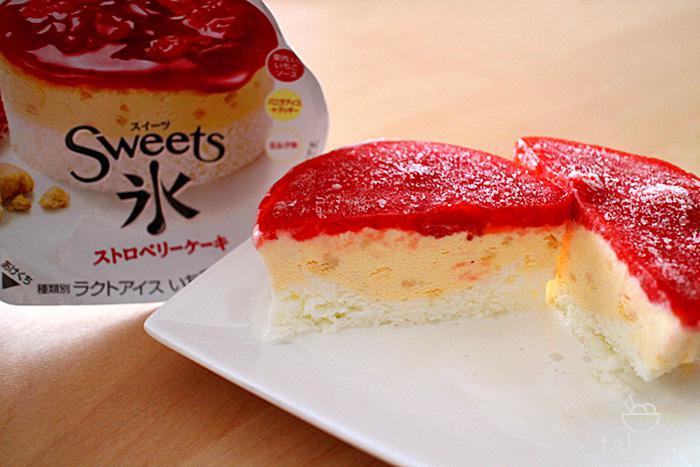 スイーツ氷・ストロベリーケーキ10